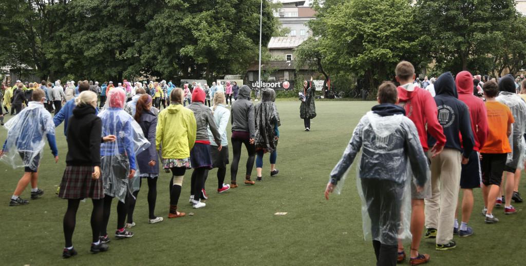 2014. aasta tüldantsupeo proovid Tallinnas. Foto: Urmas Reisberg